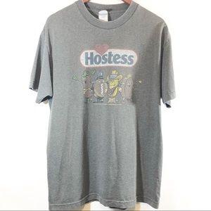 Hostess Burnout T shirt sz Lg